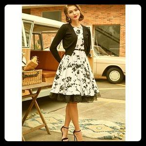 NWT Retro Floral Dress